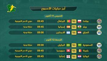 تقرير  مواجهات لا تفوتك من أسبوع المباريات الدولية