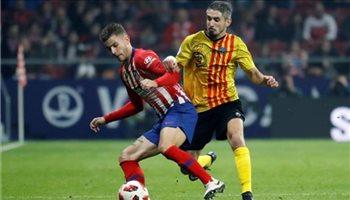 كأس إسبانيا| عبور سهل لأتليتكو مدريد لثمن النهائي على حساب سانت أندرو