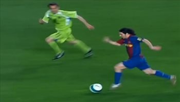 هدف ميسي في شباك خيتافي الأفضل في تاريخ برشلونة