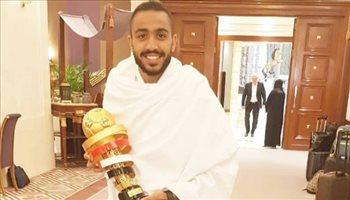 لاعبو الزمالك يؤدون مناسك العمرة بعد السوبر السعودي المصري