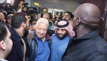 """تركي آل الشيخ يوجه رسالة لرئيس الزمالك بعد تصريحاته """"المثيرة"""""""