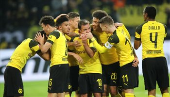 فيديو.. دورتموند يعود لصدارة الدوري الألماني بثنائية أمام ماينز