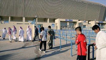 سوبر كلاسيكو| الجماهير السعودية تتوافد على شراء تذاكر مواجهة العراق