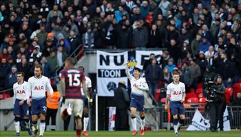 الدوري الإنجليزي| رقم قياسي جديد لتوتنهام بعدم التعادل في البريميرليج