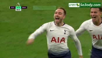 أهداف مباراة .. توتنهام 1 - 0 برايتون .. الدوري الإنجليزي