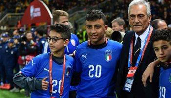 تكريم إيطالي للشاب المصري رامي شحاته بتصفيات يورو 2020