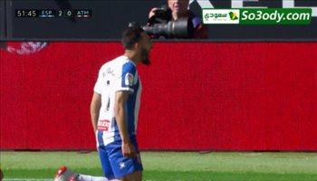 اهداف مباراة .. إسبانيول3 - 0 أتلتيكو مدريد .. الدوري الاسباني