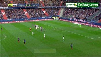 أهداف مباراة .. كان 1 - 2 باريس سان جيرمان .. الدوري الفرنسي