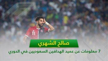 صالح الشهري .. 7 معلومات عن عميد الهدافين السعوديين في الدوري