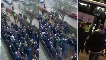 فيديو.. شجار دموي بين جماهير إيفرتون وميلوول قبل لقاء كأس الاتحاد الإنجليزي