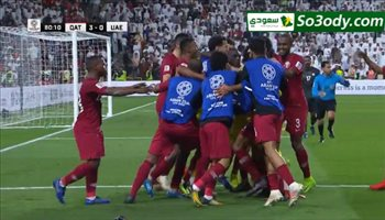 أهداف مباراة .. قطر4 - 0 الامارات .. كأس اسيا