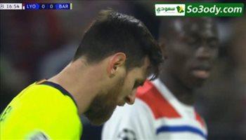 ملخص مباراة .. ليون 0 - 0 برشلونة .. دوري ابطال اوربا