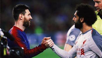 برشلونة يرد على غياب محمد صلاح في إياب نصف نهائي دوري الأبطال