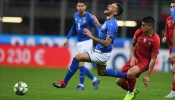 دوري الأمم الأوروبية  البرتغال تفرض التعادل السلبي على إيطاليا وتتأهل للدور نصف النهائي