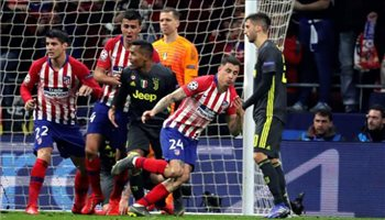 فيديو| أتلتيكو مدريد يقهر يوفنتوس بثنائية ويقترب من ربع نهائي دوري الأبطال