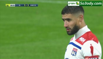 اهداف مباراة .. ليون2 - 1 باريس سان جيرمان .. الدوري الفرنسي