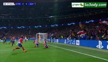 اهداف مباراة .. اتليتكو مدريد 2 - 0 يوفنتوس ..  دوري أبطال أوروبا