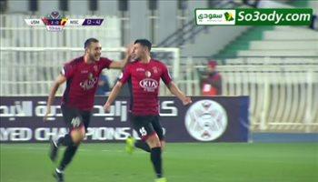 اهداف مباراة .. اتحاد العاصمة  2 - 0 المريخ السوداني .. كاس زايد للاندية