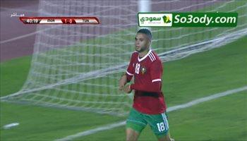 أهداف مباراة .. تونس 0 - 1 المغرب .. مباراة ودية