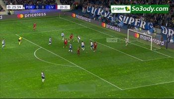 هدف ليفربول الأول في مرمى بورتو .. دوري أبطال أوروبا
