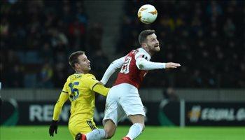 فيديو..أرسنال يعود من روسيا البيضاء بهزيمة في الدوري الأوروبي