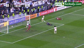 هدف قطر الرابع في مرمي الامارات .. كأس اسيا