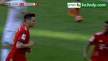 اهداف مباراة .. بايرن ميونخ 1 - 0 فيردر بريمن .. الدوري الالماني