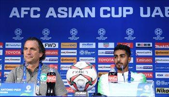 كأس آسيا| المؤتمر الصحفي.. بيتزي يكشف سبب صعوبة مواجهة لبنان