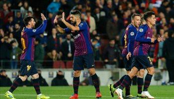 فيديو.. سحر ميسي يقود برشلونة لاكتساح ليون بخماسية والتأهل لربع نهائي الأبطال
