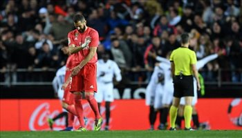 فيديو.. السقوط الأول لريال مدريد مع زيدان أمام فالنسيا