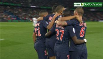 اهداف مباراة ..  باريس سان جيرمان 3 - 1  موناكو ..  الدوري الفرنسي