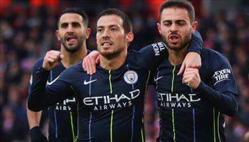 الدوري الإنجليزي| الشباك النظيفة ترفض مانشستر سيتي وسيلفا لوصافة الهدافين الإسبان
