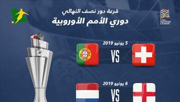 قرعة دوري الأمم الأوروبية| قمة نارية بين إنجلترا وهولندا في نصف النهائي