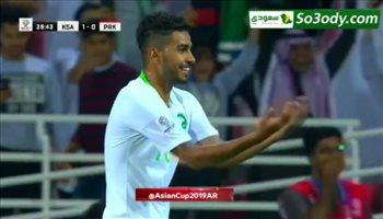 اهداف مباراة .. السعودية 4 - 0 كوريا الشمالية  .. كاس اسيا