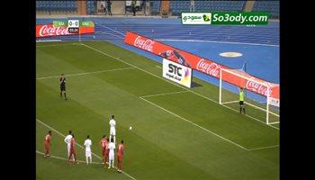 هدف المنتخب السعودي الأول في شباك غينيا .. مباراة ودية