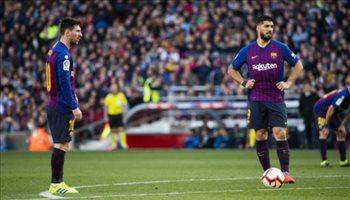 ميسي يقود برشلونة ولوكاكو في قيادة مانشستر يونايتد بدوري الأبطال