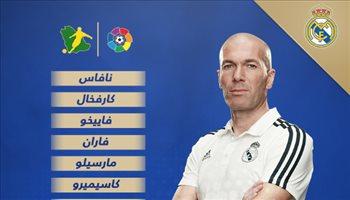 تعرف على تشكيل ريال مدريد لمواجهة بلباو في الليجا