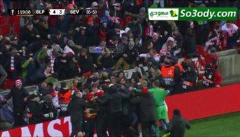 أهداف مباراة .. سلافيا براغ 4 - 3 إشبيلية .. الدوري الأوروبي