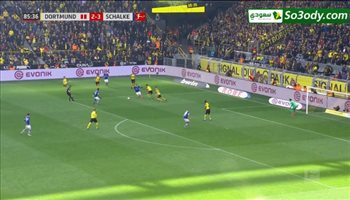 أهداف مباراة .. بورسيا تورتموند 2 - 4 شالكة .. الدوري الالماني