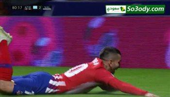 أهداف مباراة .. أتليتكو مدريد 3 - 2 فالنسيا .. الدوري الأسباني