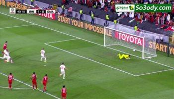 اهداف مباراة .. ايران 2 - 0 عمان ..  كأس آسيا