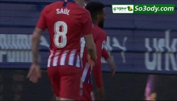 اهداف مباراة .. إيبار0 - 1أتلتيكو مدريد .. الدوري الاسباني