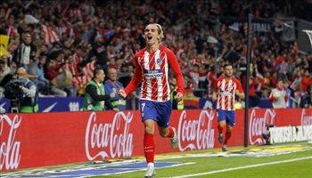 أتلتيكو مدريد يهاجم جريزمان بعد قراره بالرحيل لبرشلونة