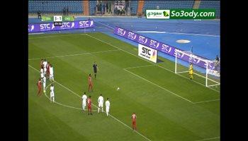 الهدف الثاني لغينيا الاستوائية في شباك المنتخب السعودي .. مباراة ودية