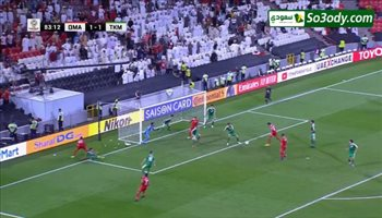أهداف مباراة .. عمان 3 - 1تركمستان .. كأس اسيا