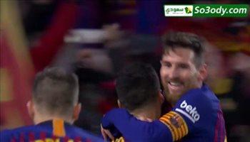 اهداف مباراة .. برشلونة 6 - 1 اشبيلية .. كاس ملك اسبانيا