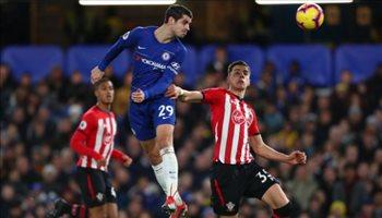 الدوري الإنجليزي| ساوثهامبتون يفرض التعادل السلبي على تشيلسي
