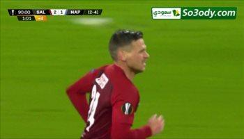 أهداف مباراة .. ريد بول 3 - 1 نابولي .. الدوري الأوروبي