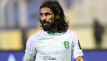 جماهير الأهلي تهلل بعودة حسين عبد الغني في مباراة الكأس