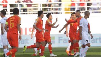 كأس آسيا| التنين الصيني يحرق صقور قيرغيزستان بثنائية